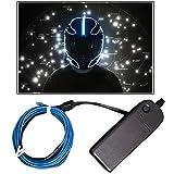 #7: Vheelocityin 200cm Tron style Helmet Light Waterproof LED - Blue