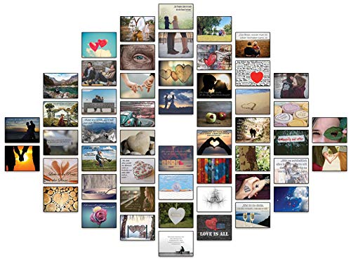 Postkarten Hochzeit/Liebespostkarten/Hochzeitsspiel 52 Wochen : jede Woche eine Postkarte