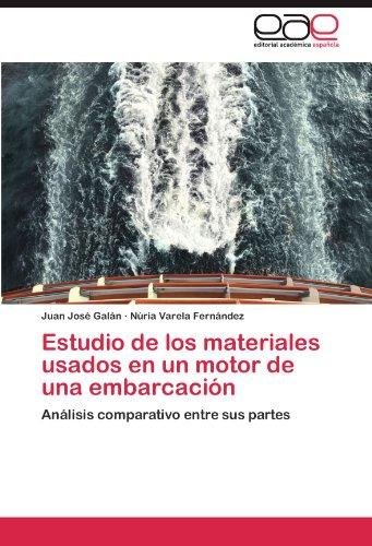 Estudio de los materiales usados en un motor de una embarcación: Análisis comparativo entre sus partes (Partes Usadas)