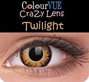 Lentilles de contact couleur annuelle - ColourVUE Crazy Lens (sans correction)