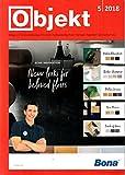 Objekt 5 2018 Asien USA Zeitschrift Magazin Einzelheft Heft Bodenbeläge Estrich Fußbodentechnik Farben Tapeten Sonnenschutz