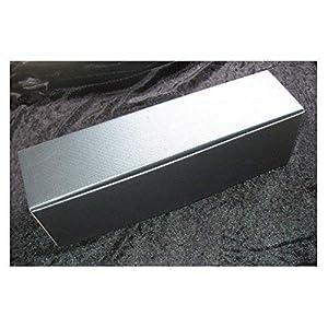 Aufbewahrungskarton silber für Taufkerzen und Hochzeitskerzen Kerzenkarton Luxusbox - AK 110149