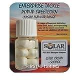 First4Fishing Enterprise Tackle Classic mit Pop-Up Mais-Carp grob und Köder, Herren, Flavour=Solar Ester Cream & Scopex