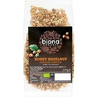 Biona Organic Honey Hazel Crunchy Granola 375g (Case of 1)