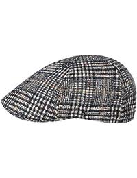 Stetson Coppola Texas Classic Check Cappello Piatto Invernale Cappellino in  Lana de30d2ca56c5
