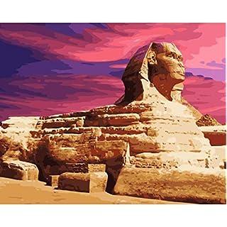 trtrtr685 Puzzle 1000 Teile 3D Puzzle Pyramide Sphinx Ancient Egypt DIY Für Wohnzimmer