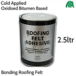 Roof Felt Adhesive | Bonding Roofing Felt | Cold Applied Sealant | 2.5ltr