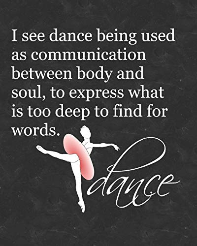 Ballet Attitude Dance Quote: 2019 Daily Planner for Dance Students and Teachers por Dance Thoughts