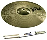 "PAISTE PST 3 16"" Crash Becken + 5A Keepdrum Drumsticks GRATIS!"