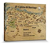 1art1 Set: Jakobsweg, EL Camino De Santiago Anno 1445, Jon