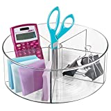 Best Desk Organizers - mDesign Lazy Susan Turntable Office Supplies Desk Organizer Review