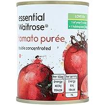 Doble Concentrado italiana puré de tomate 140 g esencial Waitrose