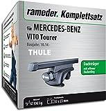 Rameder Komplettsatz, Dachträger SquareBar für Mercedes-Benz VITO Tourer (116184-13078-1)