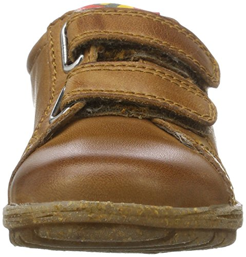 Naturino Unisex-Kinder Hill Sneaker Braun (Leder)