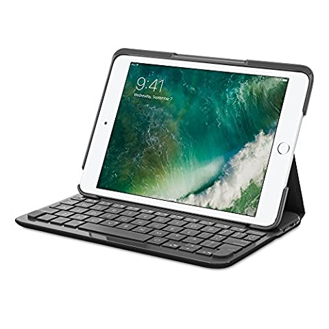 Logitech Canvas étui clavier pour iPad M iPad Mini 2iPad Mini 3Carbone en