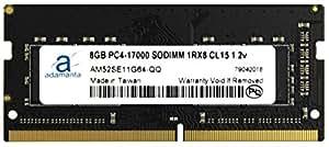 Adamanta 8GB (1x8GB) Laptop Memory Upgrade for MSi Cubi 2 Plus 002XEU DDR4 2133 PC4-17000 SODIMM 1Rx8 CL15 1.2v Notebook RAM