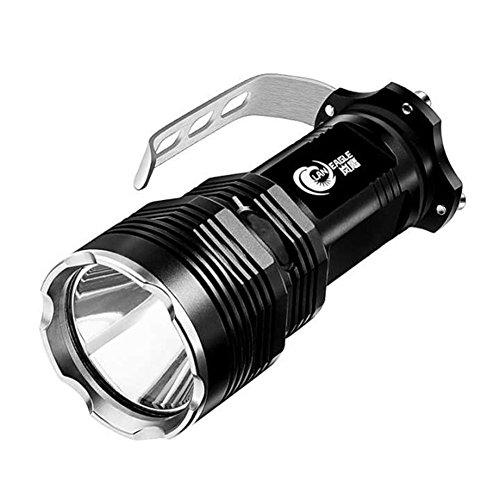 HUANGLP LED Taschenlampe Lantern,Rechargeable Scheinwerfer Hochleistungs Super Bright,10W Superhelle Jagd-Long-Range-Xenon-Lampe,Yellow