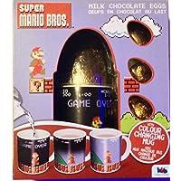 Super Mario Bros huevos de chocolate con leche con taza de cambio de color 82g