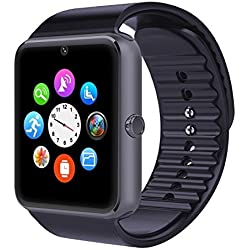 FFN-GT08 Bluetooth Smart Watch For Android HTC Samsung iPhone iOS SIM Slot UK