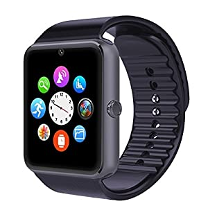 Smart Watch with SIM Card Slot Bluetooth Health Track Smart Wristwatch Independent Smart Phone Watch for Android IOS Smartphones