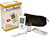 #8: Accu Sure GM 100 Glucometer gold With 25 Strips
