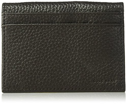 Cole Haan Pebble Flap Passcase With 3 Cc, Id Pocket, Back Pockets Accessory (Passcase Wallet Braun)