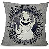 Snow Island Nightmare Before Christmas Decorative Cushion Cover For Ghost Festival Head Design Waist
