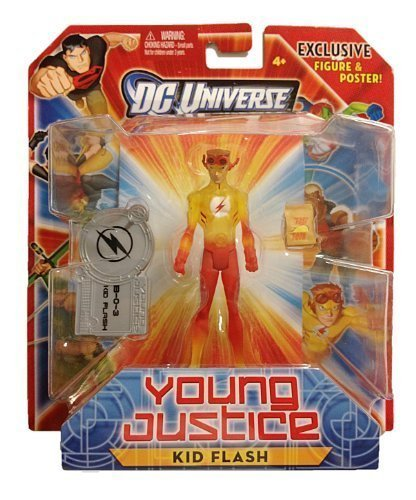 e Young Justice Action Figure Kid Flash by DC Comics by DC Comics ()