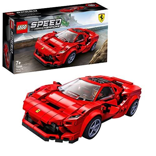 LEGO76895SpeedChampionsFerrariF8Tributo RacerToywithRacingDriverMinifigure,RaceCarsBuildingSets