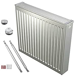Buderus radiateur compact type 21–600 x 600 avec support