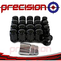 N11B863 Black Locking Wheel Nuts and Key for Aftermarket Ḟord Focus Alloy Wheels Part No