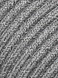 Cavo elettrico tondo rivestito in tessuto colorato per lampadari, lampade, abat jour. Il cavo elettrico diventa design! Scegli fra 30 colori. 5 Metri 2x0,75. Made in Italy! Lino Scuro