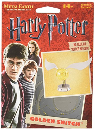 Fascinaciones Metal Tierra Harry Potter Golden Snitch 3D Modelo de Metal