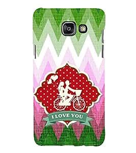 EPICCASE love ride Mobile Back Case Cover For Samsung Galaxy A7 (2016) (Designer Case)