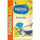 Nestlé Papillas 8 Cereales A Partir De 6 Meses - 660 g