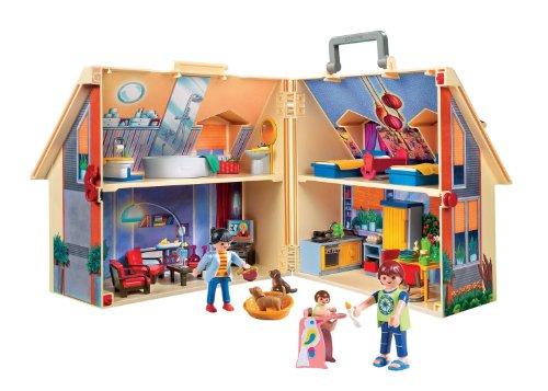 Playmobil   Casa de muñecas en forma de maletín  set de juego (5167)