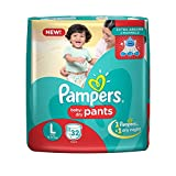 #6: Pampers New Large Size Diapers Pants (32 Count)