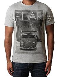 Men's graphic photo print t-shirt short sleeve cotton top Dissident 1C-5902