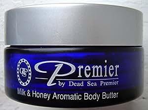 Premier Dead Sea Aromatic Body Butter Milk and Honey 175ml