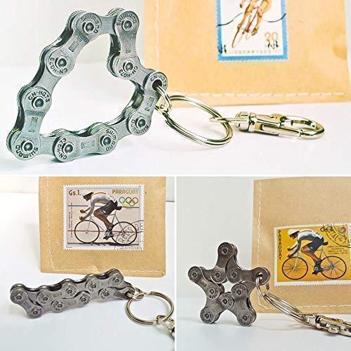 Schlüsselanhänger Bike Fahrrad Radsport Radfahrer Anhänger Mountainbike Rennrad Biker Geschenk Upcycling Sport Triathlon Geschenkidee Tour de France Zubehör Accessoire