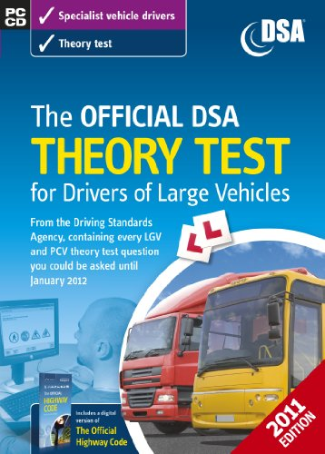 The Official DSA Theory Test for Drivers of Large Vehicles CD-ROM (2011 edition) Test
