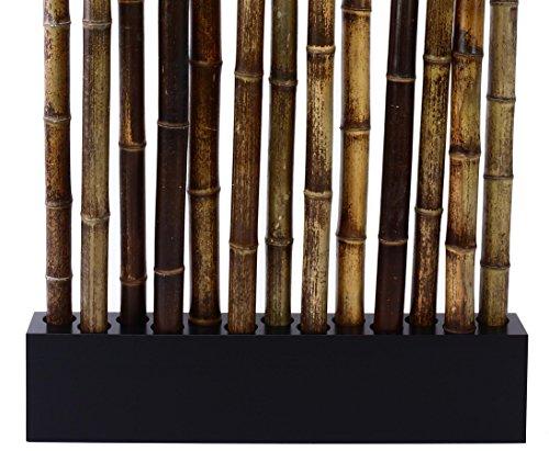 Bambus Raumteiler Paris4 Mit Ca 90 X 12 X 205 Cm Sockel Und 13