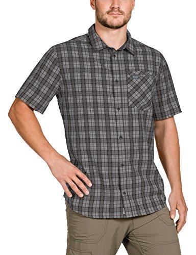 Jack Wolfskin Herren Hemd Arthurs Vent Shirt M Dark Steel Checks