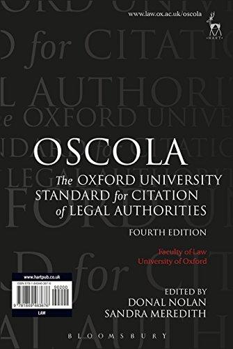 OSCOLA Cover Image