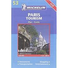 Plan de ville : Paris Tourism, numéro 53 (en anglais)