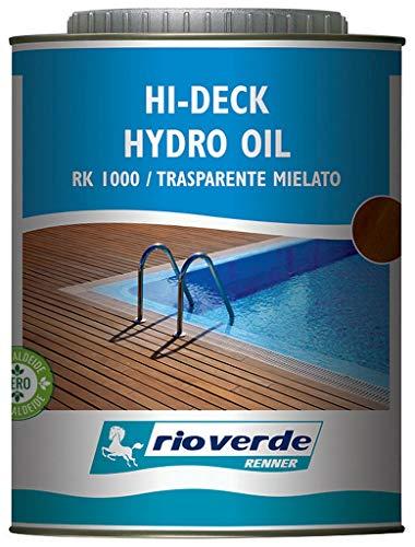 6pz rioverde rk 1000 olio all'acqua trasparente lt.0,750