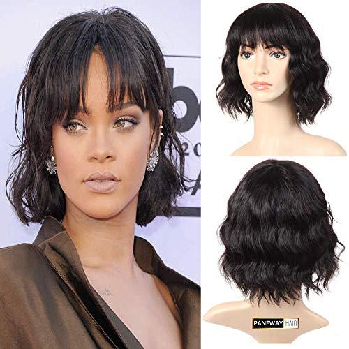 Peluca de pelo humano para mujer negra