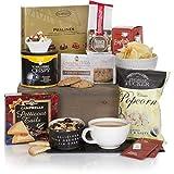 Tee Freuden Geschenkkorb - Luxus-Präsentkorb zum Essen und Trinken für Ihn oder für Sie – Präsentkorb zum Geburtstag & Besonderen Anlass