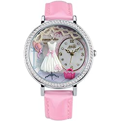 Didofà, Italian Designed Wrist Watch - Women's 3D Water Resistant Wrist Watch , DF-S1039B