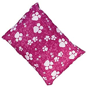 Linens Limited Paws Dog Pet Bed, Pink, Large from Linens Limited